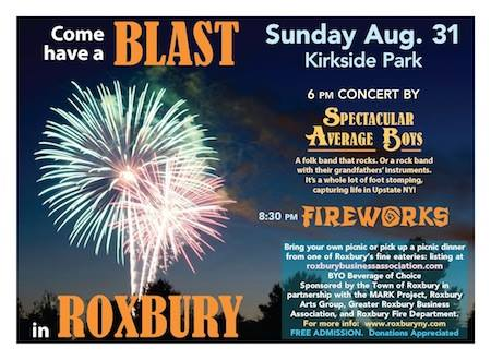 Come Have A Blast in Roxbury - August 31